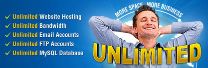 Unlimited Web Hosting - Rs. 1500.00 Per Year